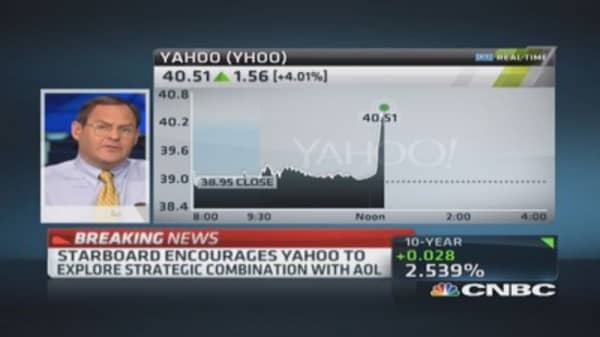 Starboard letter to Yahoo by the numbers