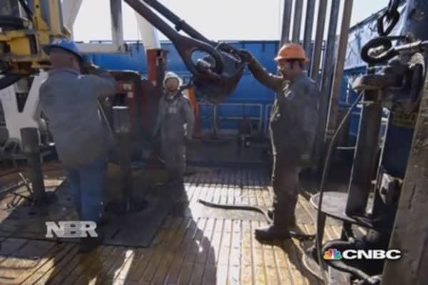 Pressure to export crude oil