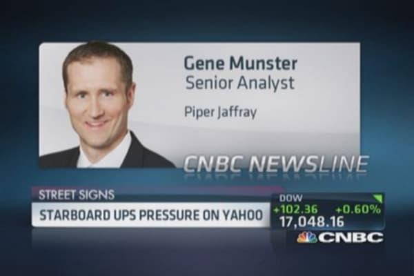 Starboard's Yahoo analysis