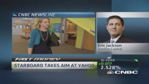 Starboard takes aim at Yahoo
