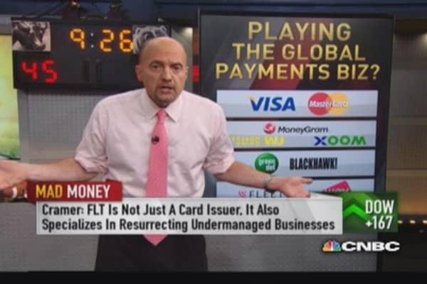 Cramer's fleet card business plays: FLT & WEX
