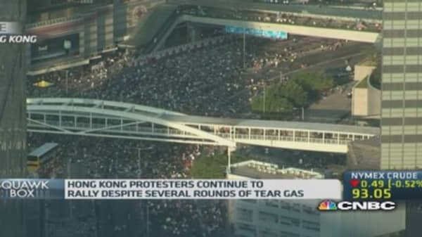 Could pro-democracy protests harm Hong Kong?