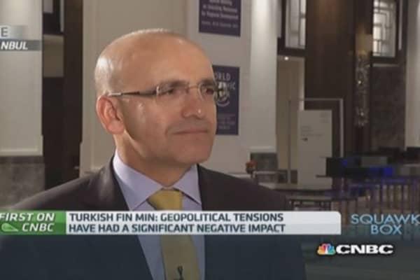 ECB QE will help Turkey's economy: Fin Min