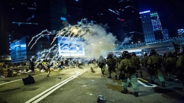 Protests escalate in Hong Kong