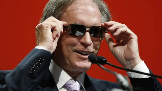 "While Bill Gross still primarily is allocated to the U.S. bond market, he warned investors at year-end that he views ""the current environment with caution."""