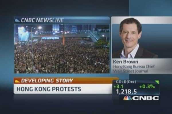 Hong Kong: Protesters rebel over election