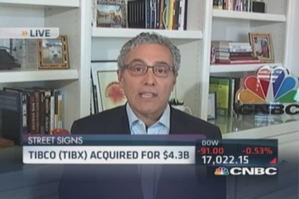Tibco acquired for $4.3 billion