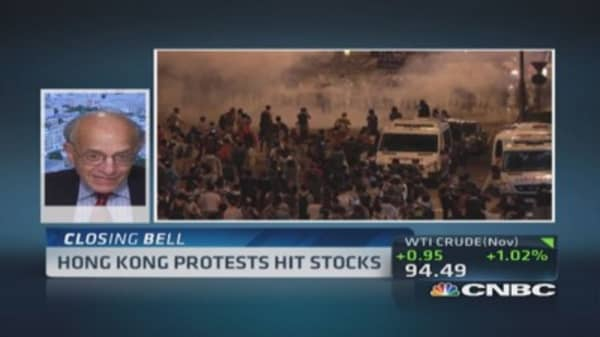 Jeremy Siegel: Wouldn't sell China on Hong Kong protests