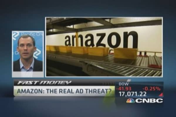 Amazon: Real ad threat?