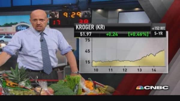 Supermarket sweep: Cramer eyes KR