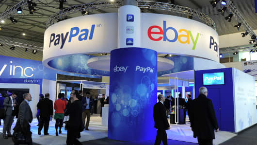 PayPal and Ebay to split into two separate public companies.
