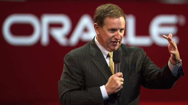 Mark Hurd, co-CEO of Oracle