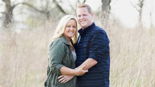 Makenzie Schultz and her husband, Steven