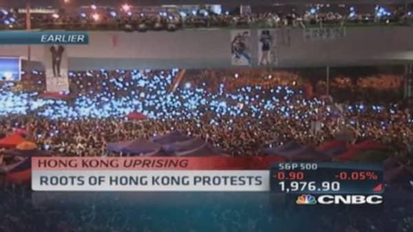Roots of Hong Kong protests