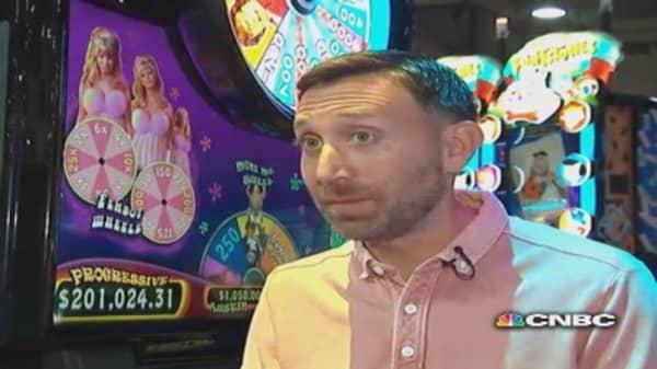 Meet creative mind behind slot machine games
