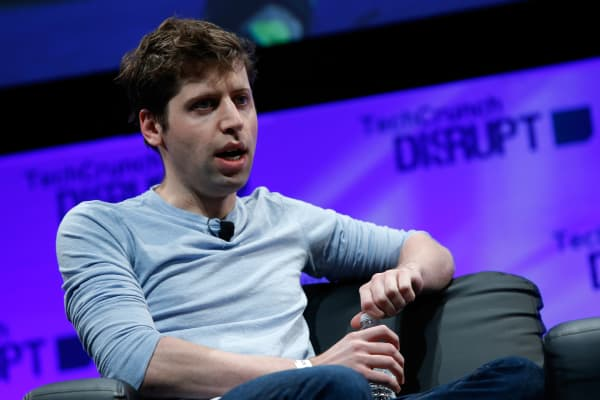 President of Y Combinator, Sam Altman.