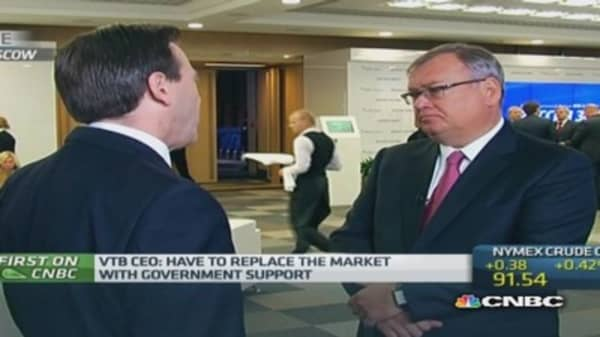 'Sanctions are biting but not deadly': VTB CEO