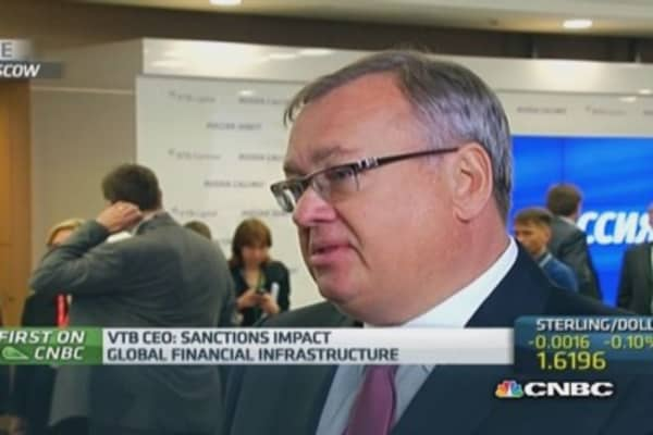 Russia capital controls not needed: VTB CEO