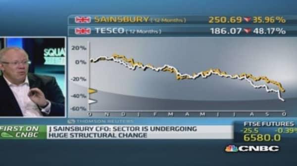 Sainsbury's CFO '100% confident' on accounting