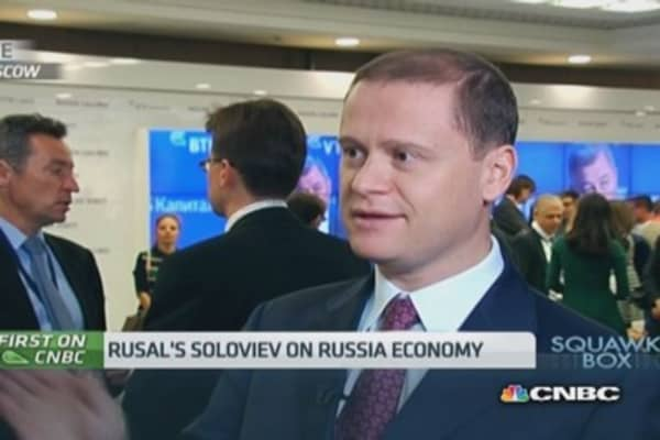 Capital controls 'won't have serious impact':Rusal CEO