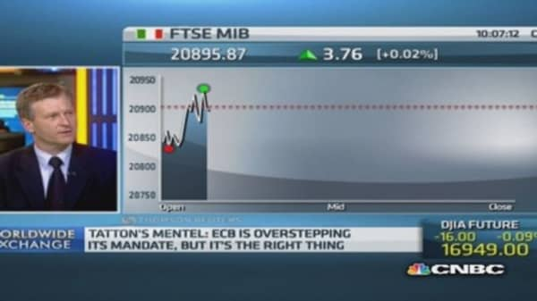 ECB should overstep its mandate: Pro