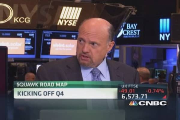 Cramer: Negative on industrials, not US