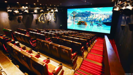 4DX theater