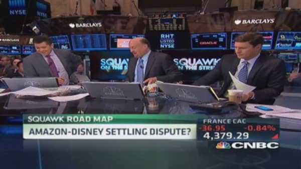 Amazon-Disney settling dispute?