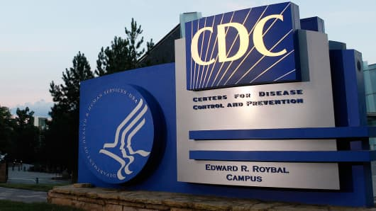 A general view of the Centers for Disease Control and Prevention (CDC) headquarters in Atlanta.