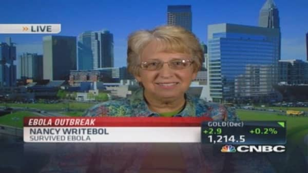 Ebola survivor tells what Texas patient may be experiencing