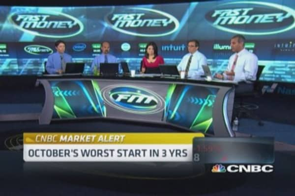 Market at critical point: Trader