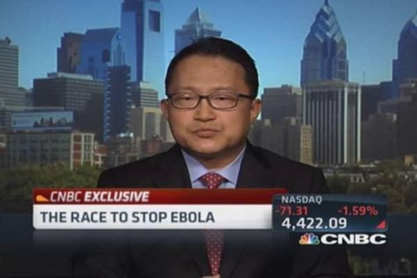 Inovio's Ebola vaccine in pipeline