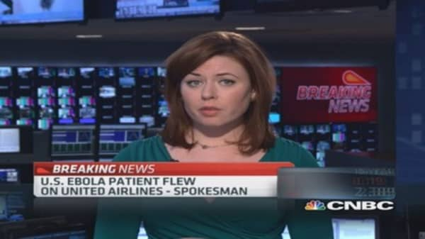 US Ebola patient flew on United Airlines: Spokesman