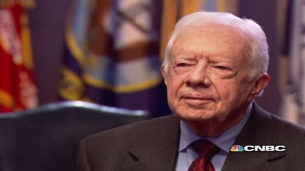 CNBC Meets President Jimmy Carter, pt. 1