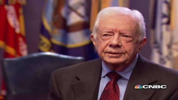 CNBC Meets President Jimmy Carter, pt. 2