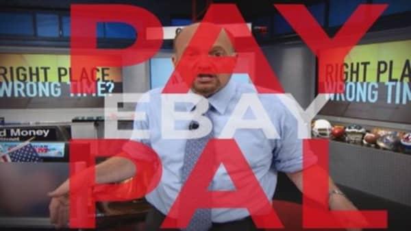 Cramer's Message To EBAY And ANGI