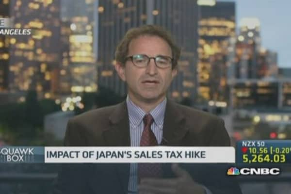 Can Japan cope with a second tax increase?