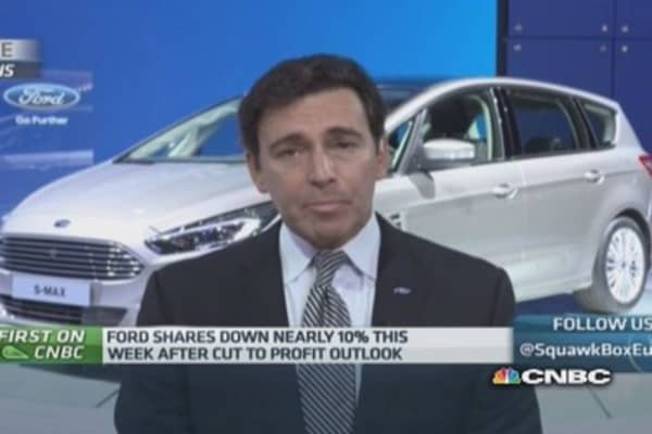 Ford did 'not have false sense of security': CEO