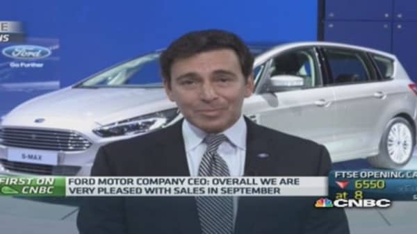 'Huge opportunity' in luxury cars: Ford CEO