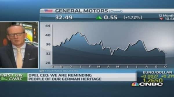 Worst is behind GM: Opel CEO