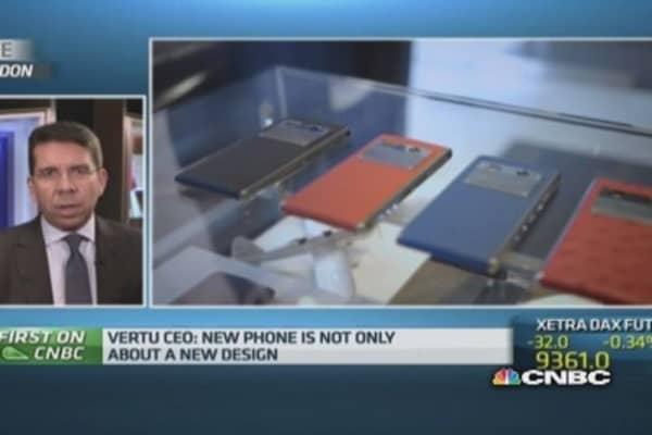 Vertu launches $6,800 luxury smartphone