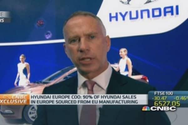 Hyundai 'regionalization strategy is very firm': COO