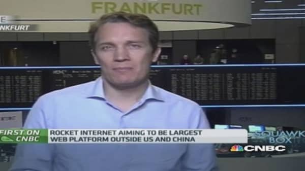 Rocket Internet CEO on fall of share price on debut