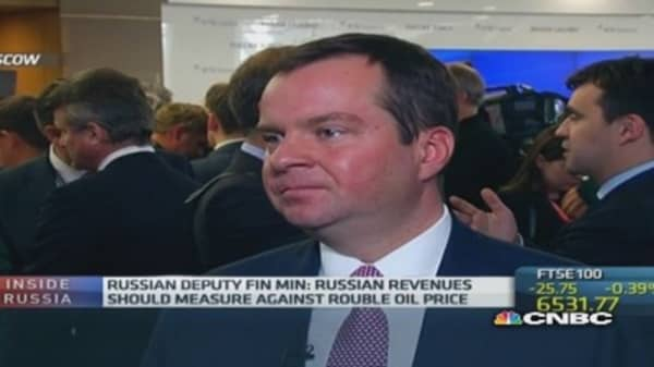 Russia is open to foreign investors: Deputy fin min