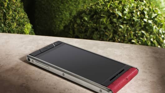 A phone by Vertu.