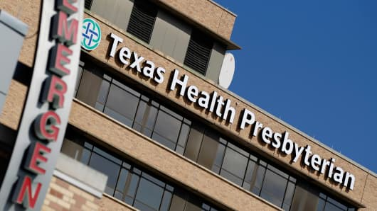 The Texas Health Presbyterian Hospital in Dallas, Texas October 1, 2014.