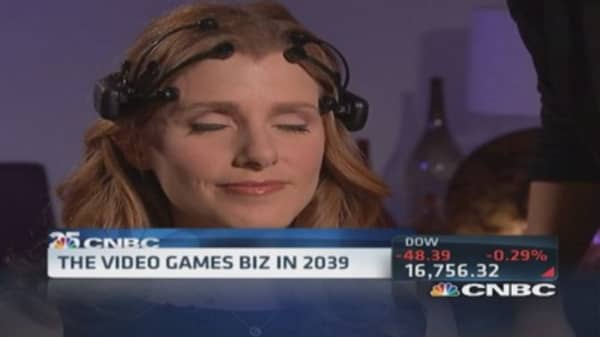 Mind control video games in 25 years