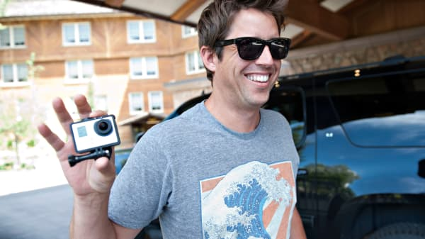 Nick Woodman, founder and chief executive officer of GoPro