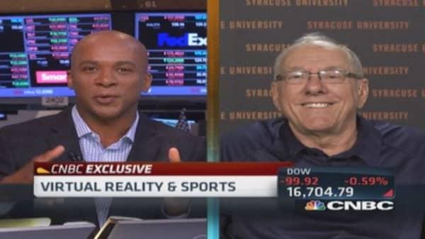 Virtual reality transports sports fans