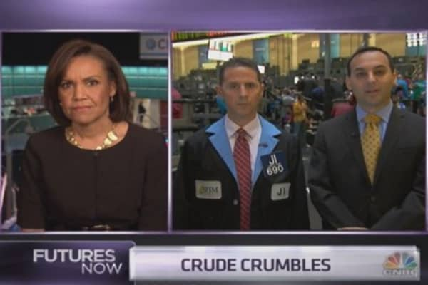 Why the crude crush could continue